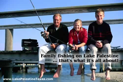 Lake palestine website map for Lake palestine fishing