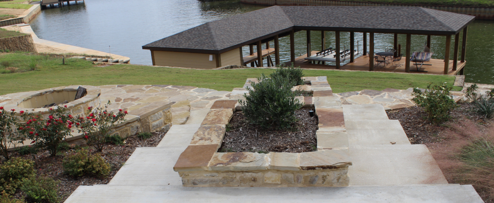 Luxury home with expansive boat dock, Lake Palestine, East Texas