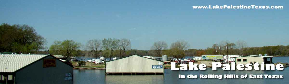 Lake palestine access marinas boat launches ramps boat for Lake palestine fishing